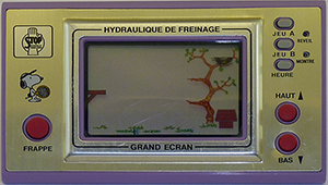 Promo Game&Watch Hydraulique de Freinage