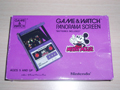 Game&Watch Mickey Mouse Panorama Screen