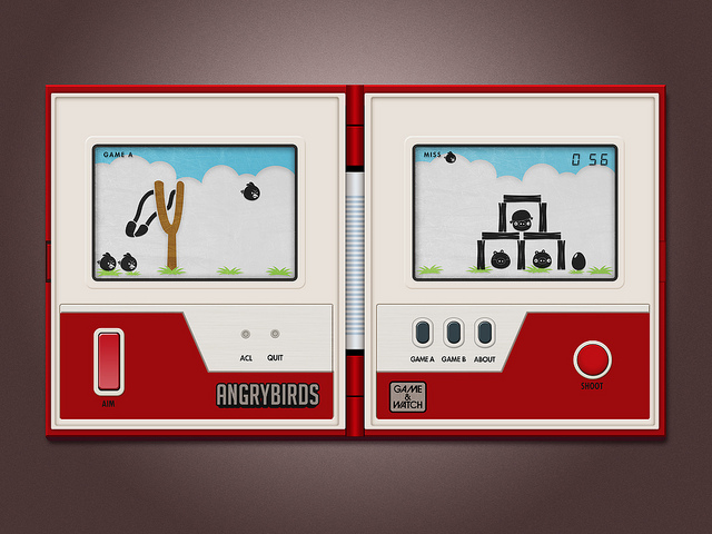 Game&Watch Angry Birds